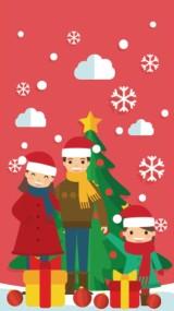 欢乐圣诞视频贺卡