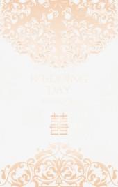 欧美高贵婚礼邀请函唯美简约时尚请柬大气典雅浪漫婚宴喜帖高端金色