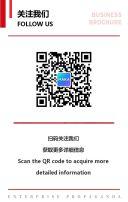 高端商务红色企业宣传画册招商推广手册H5