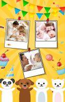 生日邀请函、宝宝生日邀请函、宝宝百日宴、宝宝满月宴、生日相册