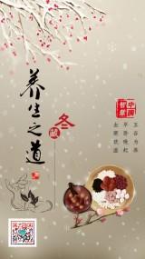 中传统文化之养生海报