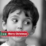 圣诞节红色可爱挂件微信头像
