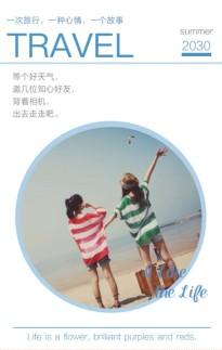 蓝色厦门-旅行记录游记纪念相册