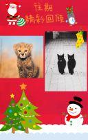 圣诞派对邀请贺卡
