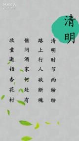 清明节踏青游园春游推介促销视频