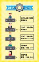 企业招聘 公司招贤纳士 招聘广告 通用模板 趣味招聘模板