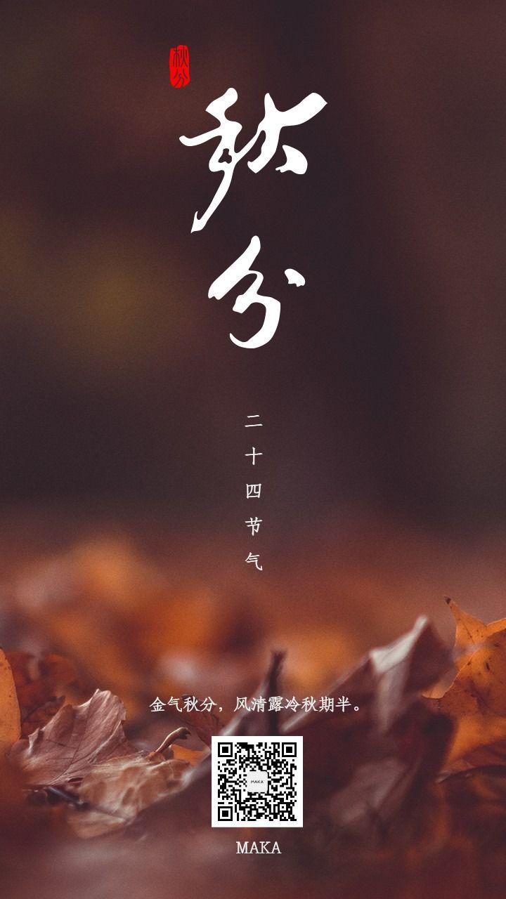 秋分时节秋祭月金气秋分二十四节气