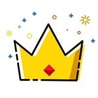 公众号微信简约头像王冠