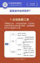 武汉新型冠状病毒肺炎上班族自我防护操作指南H5