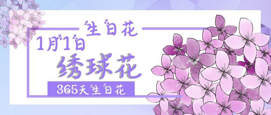 花艺 花店 2019新年生日花介绍