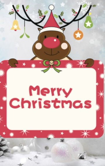 圣诞贺卡 圣诞快乐 祝福贺卡 节日贺卡