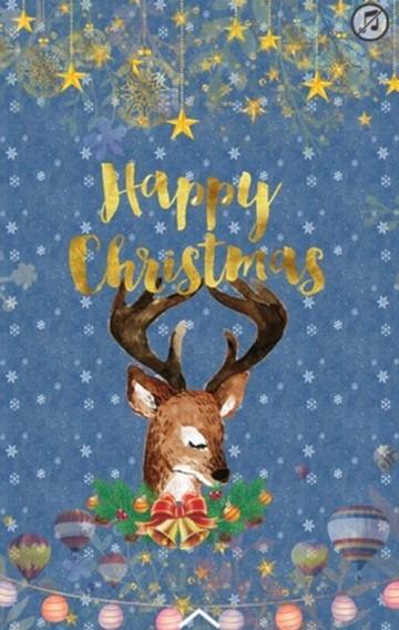 圣诞狂欢邀请函