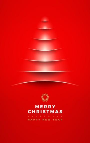 圣诞节促销活动 圣诞快乐新品发布会 电商实体通用高端简约平安夜红色喜庆新年节日