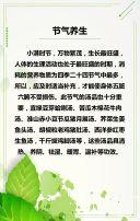 绿色小满习俗普及小满习俗介绍宣传H5
