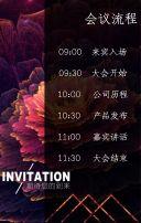 高端大气公司会议发布邀请函