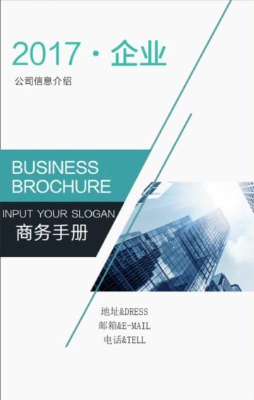 高端企业商务模板,集团商业品牌策划书设计案