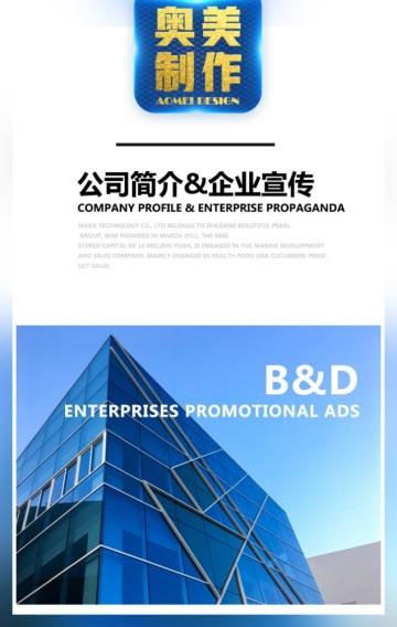 公司简介 企业宣传 高端