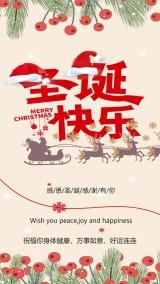 圣诞节快乐 感恩圣诞节