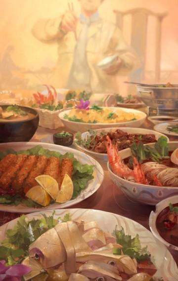 年夜饭的故事用于酒店订餐年夜饭预订