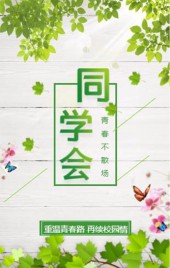 清新文艺同学会/简约大气同学聚会