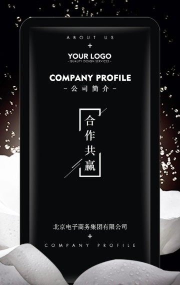 高端大气公司简介品牌推广企业宣传