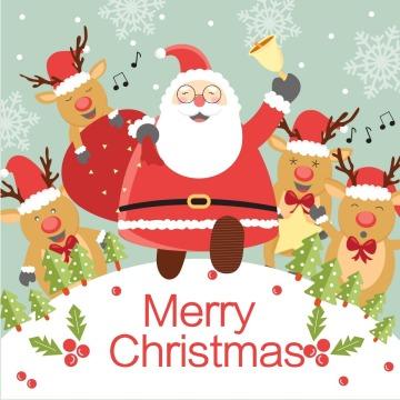 圣诞快乐促销打折公众号封面次条小图