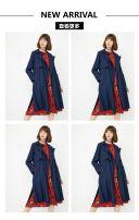 时尚简约冬季女装新品上市促销模板