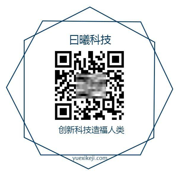 科技数码医疗产品推广促销活动二维码电商微商产品二维码几何简约-曰曦