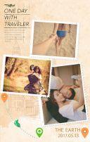 情侣相册,旅行记录,时光记忆