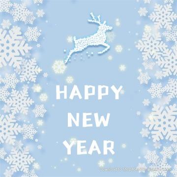 【新年次图】微信公众号封面小图简约小清新祝福话题通用-浅浅