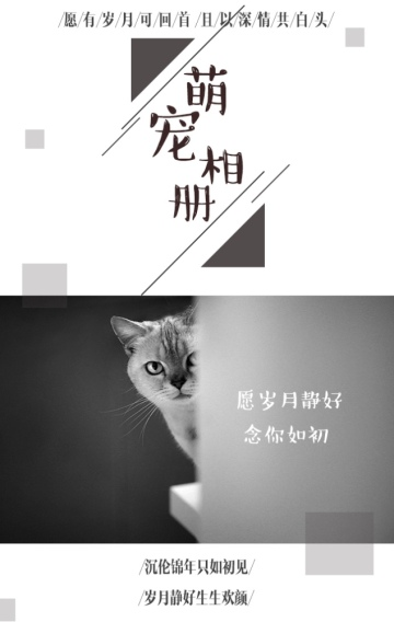 【小清新萌宠相册】