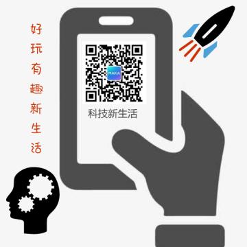 扁平简约黑色科技电商微商通用微信二维码