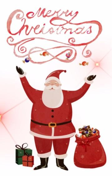 清新圣诞节活动邀请函通用模板