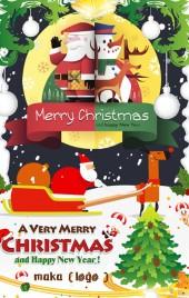 圣诞派对,圣诞相册,圣诞宣传等
