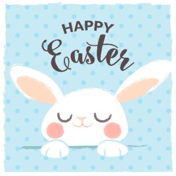 手绘可爱兔子微信头像