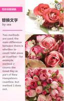 情人节鲜花约会促销宣传唯美模板