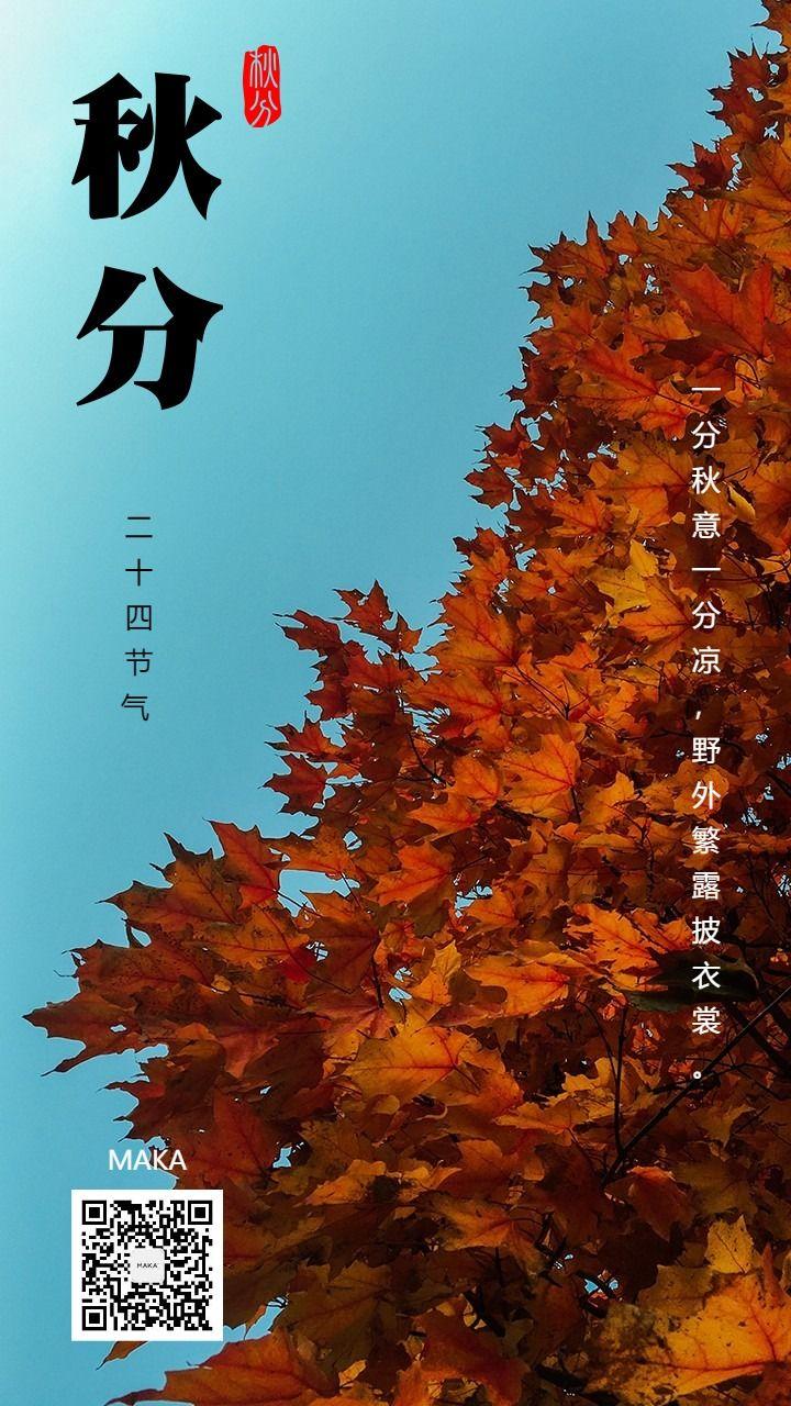 秋分八月中时节二十四节气金气秋分秋分到秋