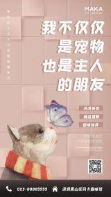 国际猫咪日宣传宠物店推广海报