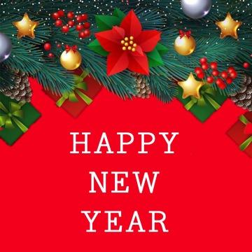 【新年次图】微信公众号封面小图简约大气祝福创意猪年话题通用-浅浅